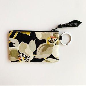 Vera Bradley | Dogwood Print Iconic Zip ID Case